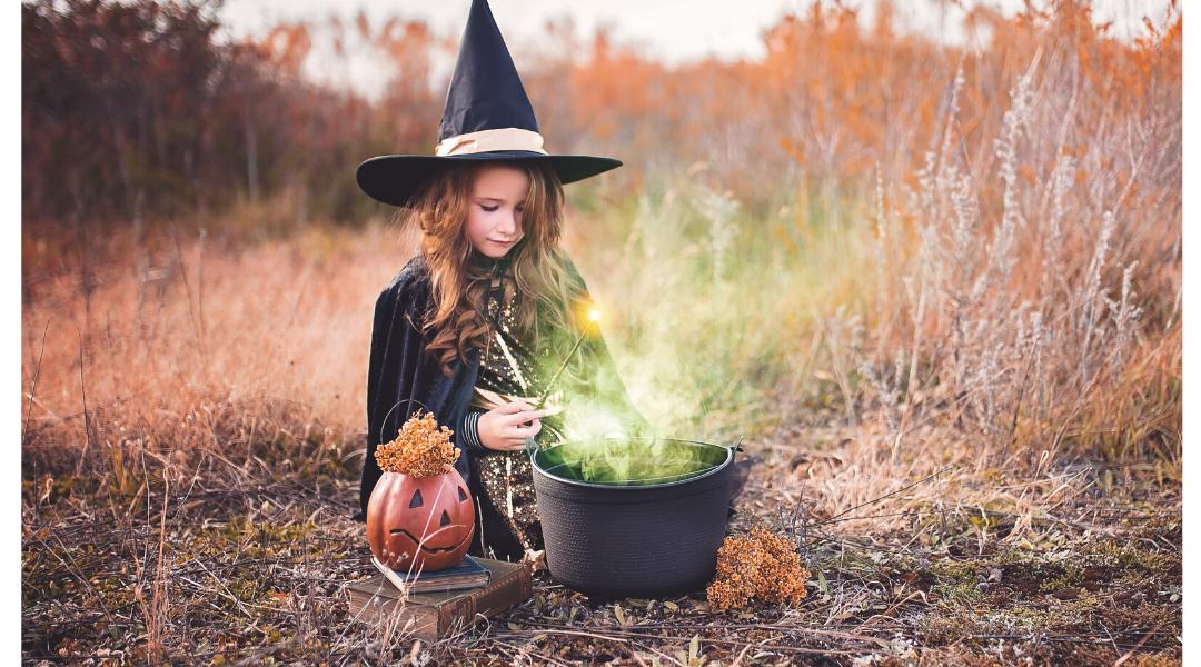 fim da tarde e hora da bruxa