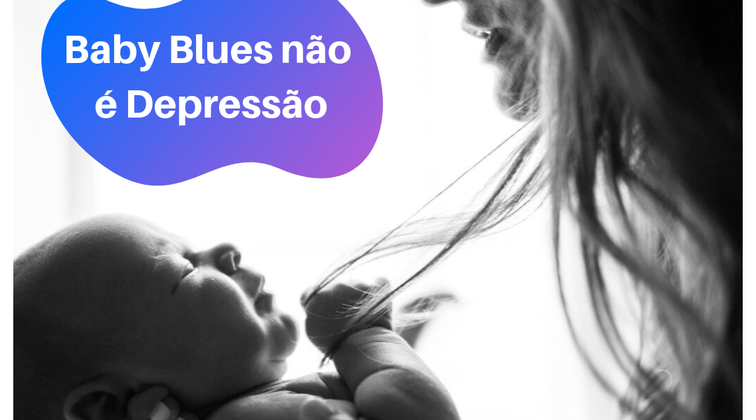 baby blues x depressão